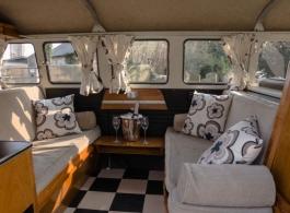 VW Wedding Campervan hire in Gosport